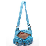 The Aria Crossbody - Serenity Blue - Ampere Creations