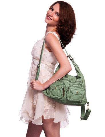 Convertible Crossbody Backpack ( Multiple Colors) - #B333