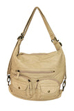 Convertible Crossbody Backpack ( Multiple Colors) - #B333 - Ampere Creations