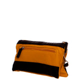 Gameday Wristlet Crossbody - Black/Light Yellow