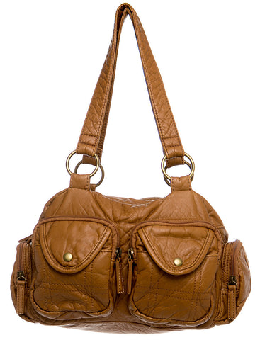 The Cody Satchel - Brown