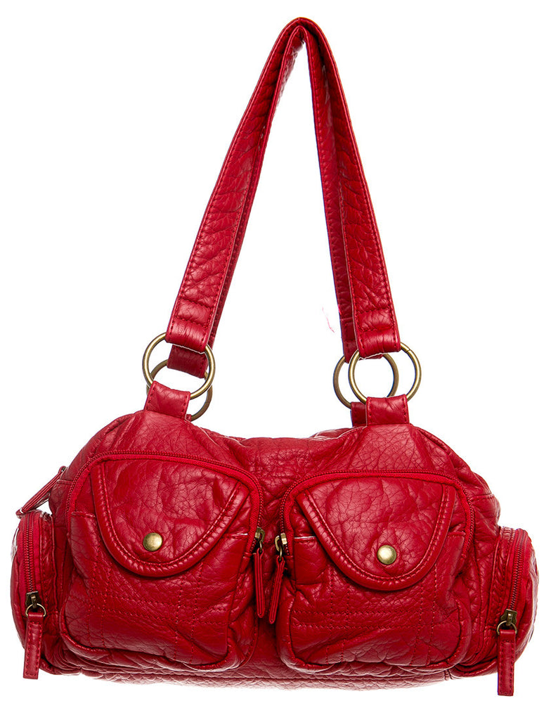 The Cody Satchel - Red
