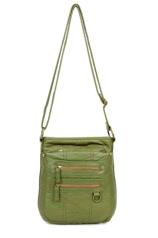 The Willa Crossbody - Army Green