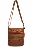 The Willa Crossbody - Brown - Ampere Creations