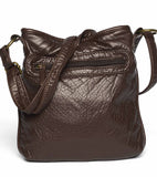 The Willa Crossbody - Chocolate Brown