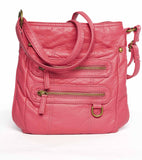 The Willa Crossbody - Coral - Ampere Creations