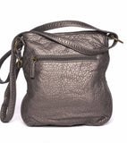 The Willa Crossbody - Dark Silver - Ampere Creations