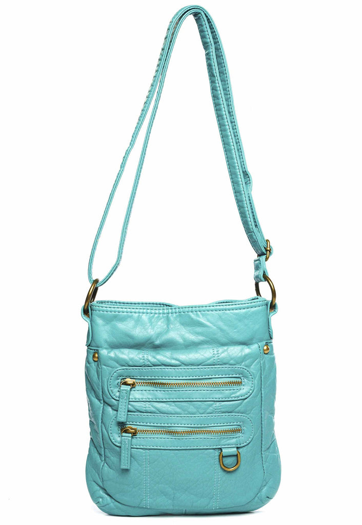The Willa Crossbody - Light Blue - Ampere Creations