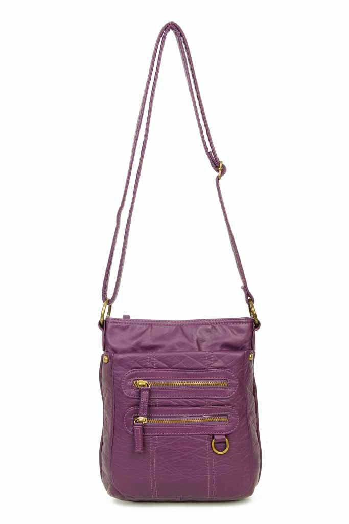The Willa Crossbody - Purple - Ampere Creations