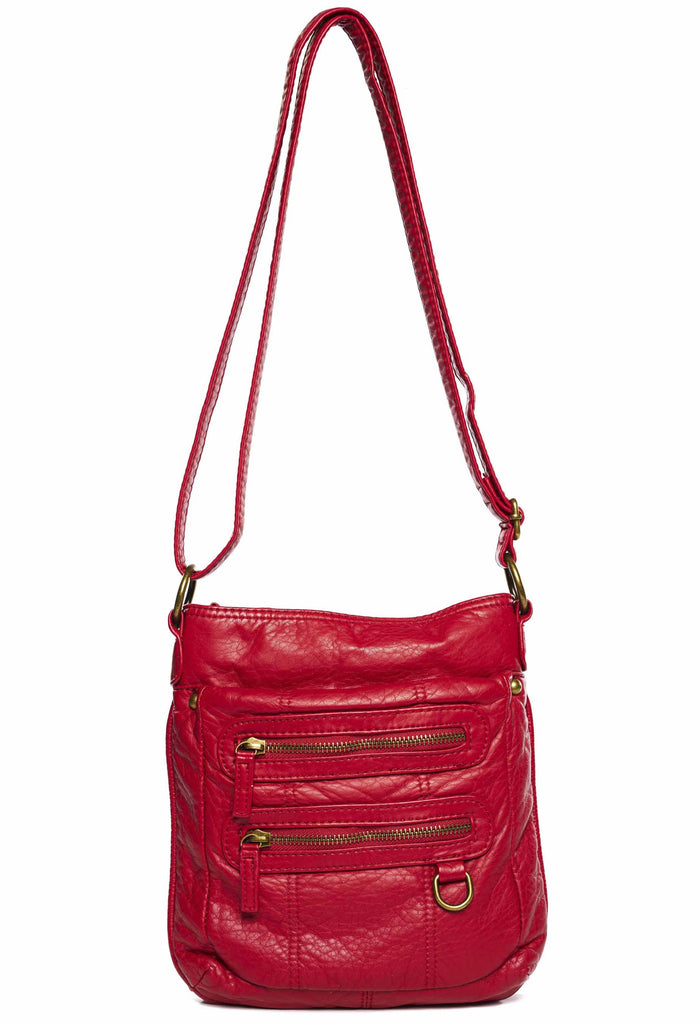 The Willa Crossbody - Red