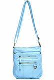 The Willa Crossbody - Serenity Blue - Ampere Creations