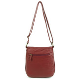 The Willa Crossbody - Burgundy - Ampere Creations