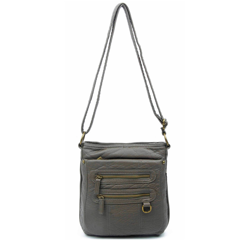 The Willa Crossbody - Dark Grey - Ampere Creations