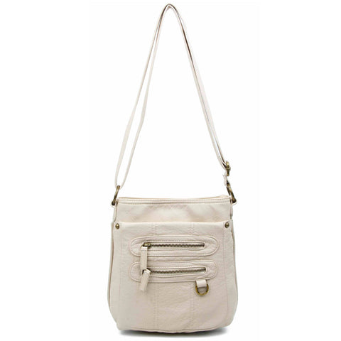 The Willa Crossbody - Taupe - Ampere Creations