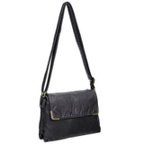 Paige Crossbody - Black - Ampere Creations