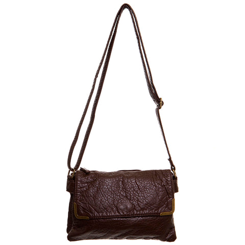 Paige Crossbody - Chocolate Brown - Ampere Creations
