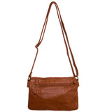 Paige Crossbody - Light Brown - Ampere Creations