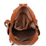 The Marie Backpack - Brown - Ampere Creations