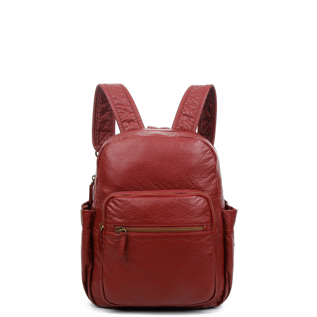 The Marie Backpack - Burgundy - Ampere Creations