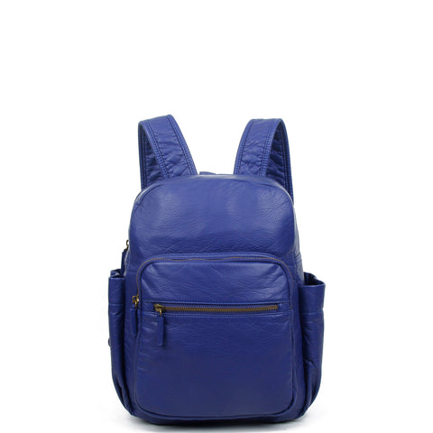 The Marie Backpack - Navy Blue - Ampere Creations