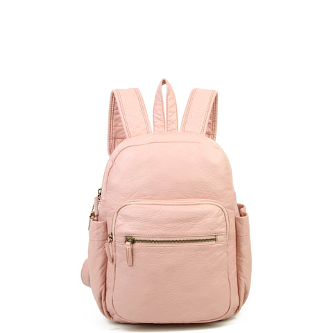 The Marie Backpack - Petal Pink - Ampere Creations