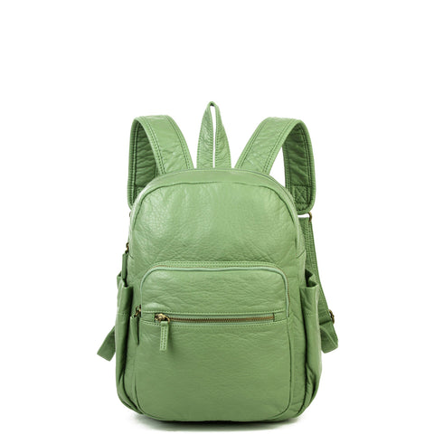 The Marie Backpack - Seafoam Green - Ampere Creations