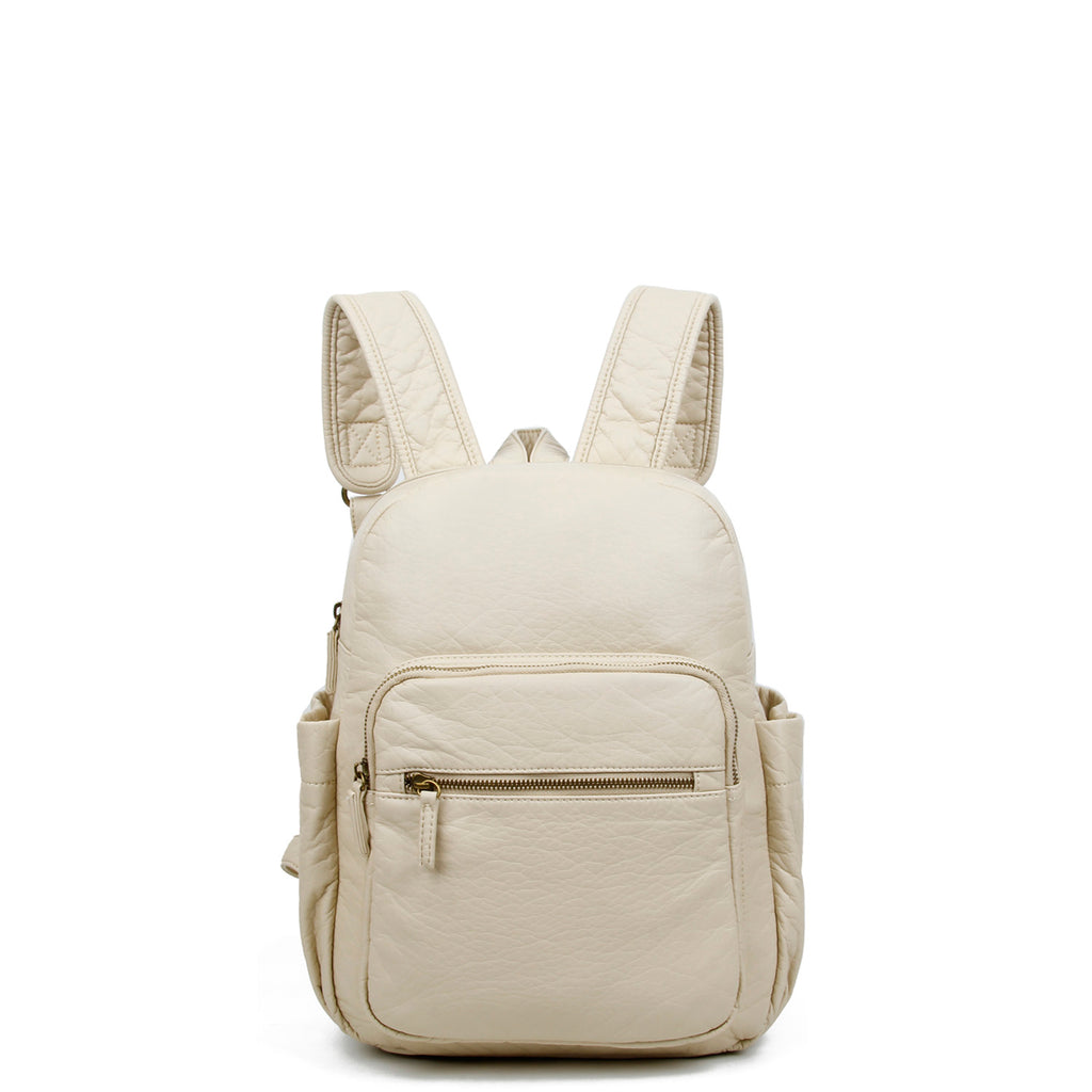 The Marie Backpack - Taupe - Ampere Creations