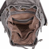 The Marion Backpack - Dark Silver - Ampere Creations