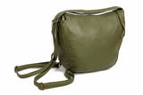 The Joia Convertible Sack Crossbody - Army Green
