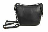 The Joia Convertible Sack Crossbody - Black - Ampere Creations