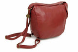 The Joia Convertible Sack Crossbody - Burgundy