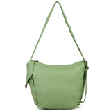 The Joia Convertible Sack Crossbody - Seafoam Green - Ampere Creations