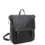 Carolina Backpack - Black - Ampere Creations