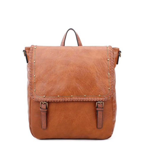 Carolina Backpack - Cognac - Ampere Creations