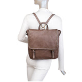 Carolina Backpack - Taupe - Ampere Creations