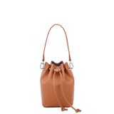 Chloe Mini Bucket Crossbody - Brown