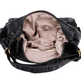 Mini Convertible Backpack - Black - Ampere Creations