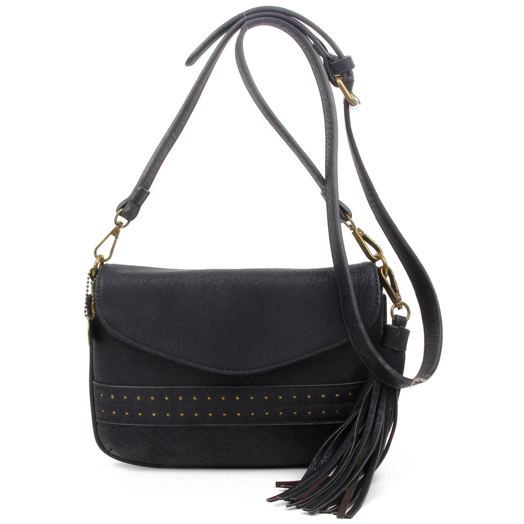 The Audry Crossbody - Black - Ampere Creations