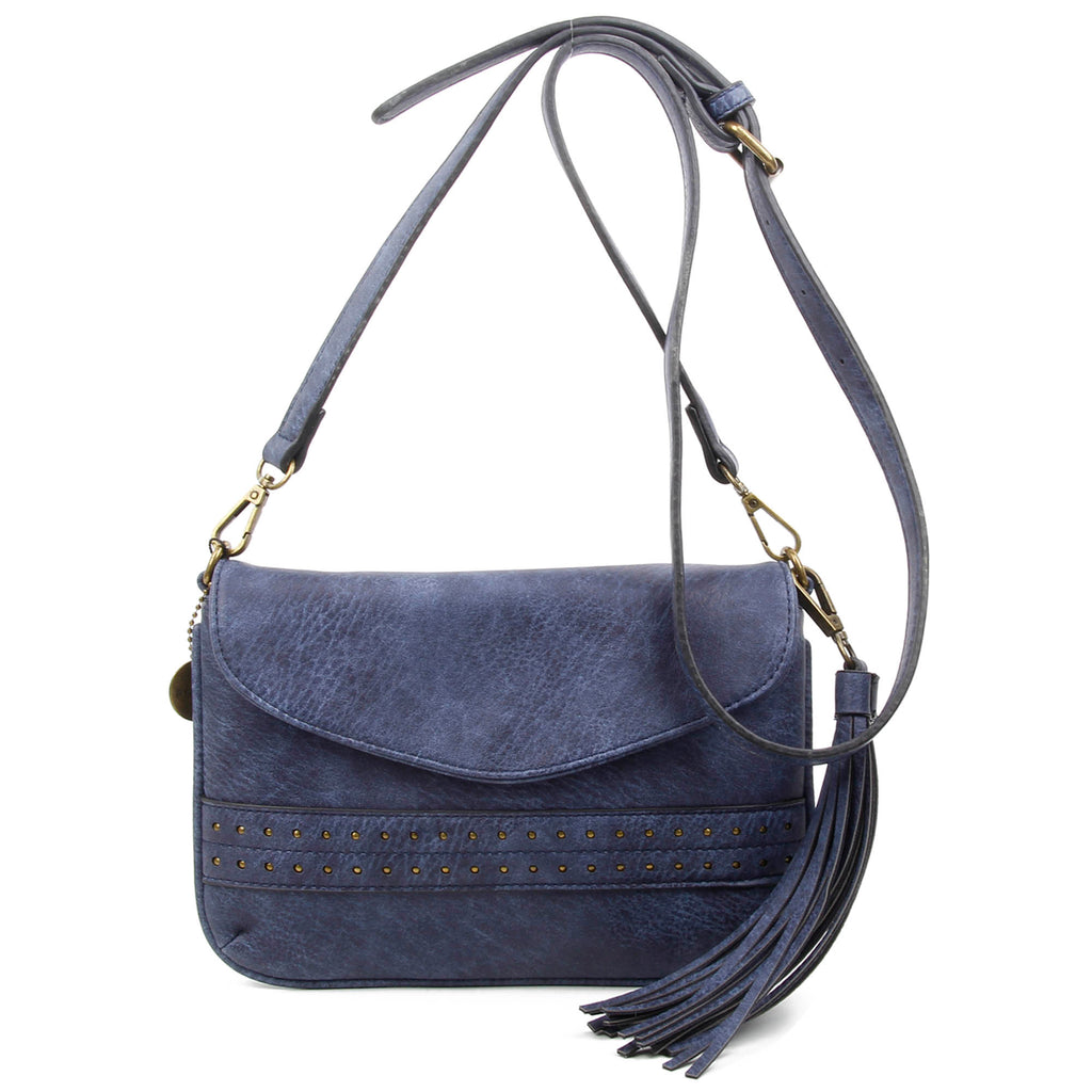 The Audry Crossbody - Blue - Ampere Creations