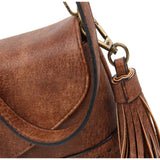 The Audry Crossbody - Brown - Ampere Creations