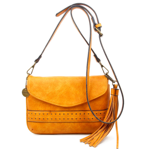 The Audry Crossbody - Camel - Ampere Creations