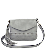 The Audry Crossbody - Light Grey - Ampere Creations