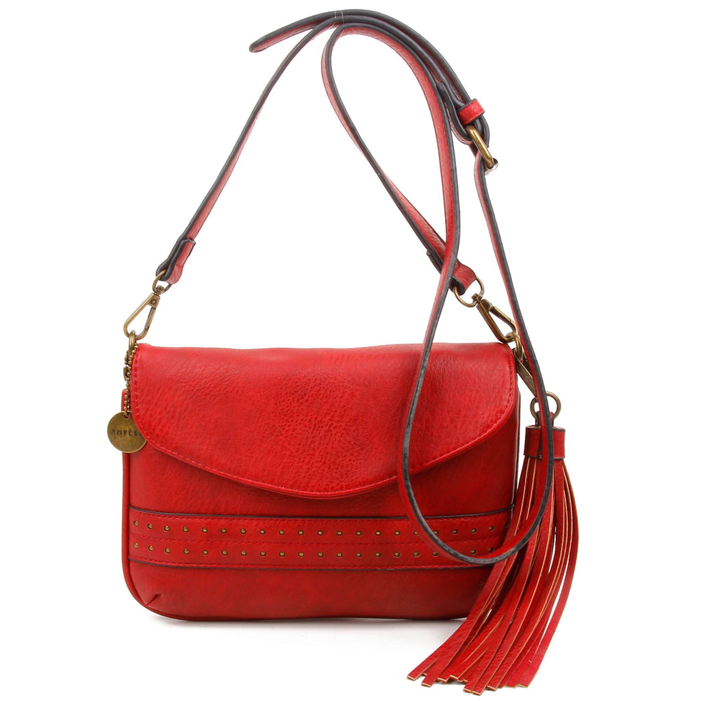 The Audry Crossbody - Red - Ampere Creations