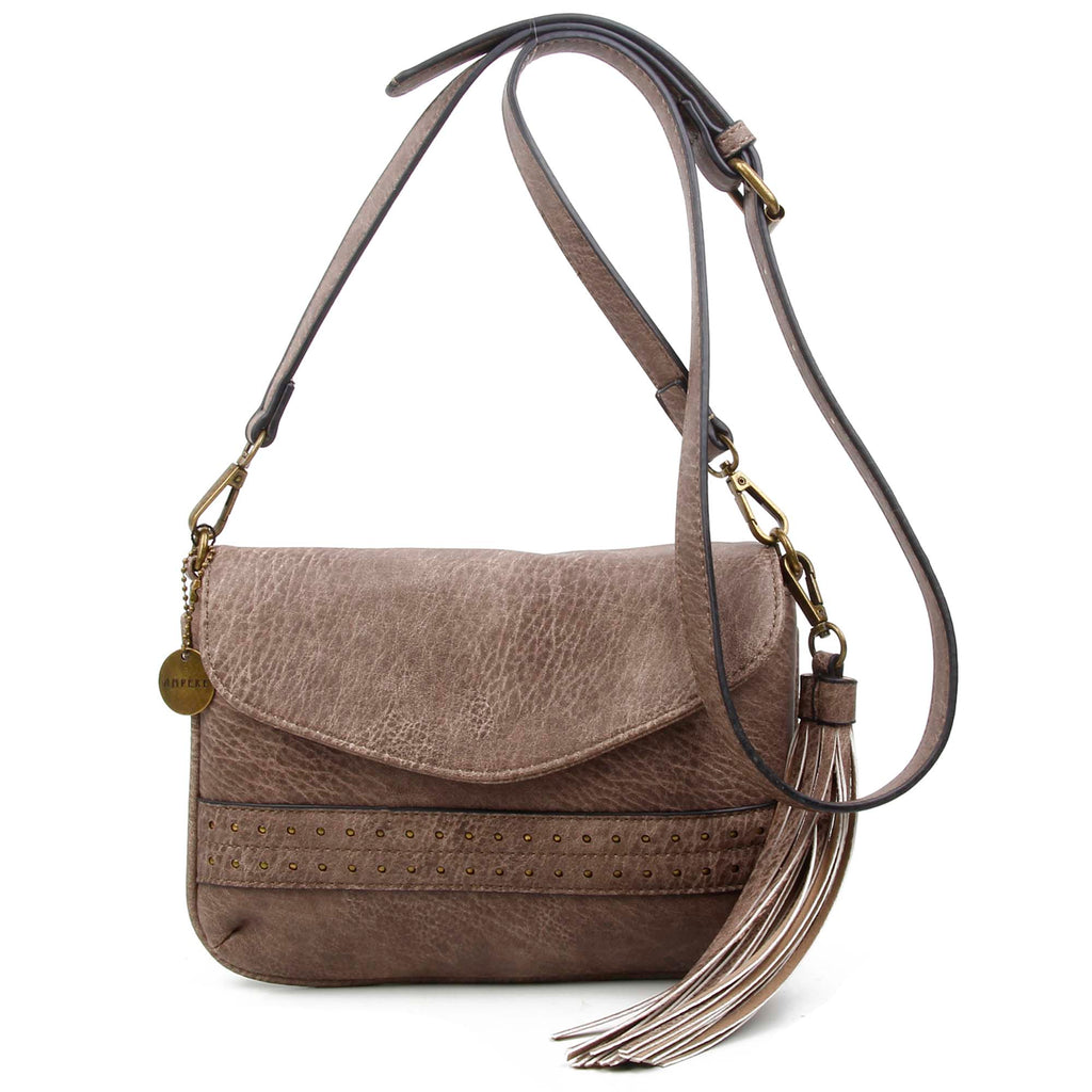 The Audry Crossbody - Stone - Ampere Creations