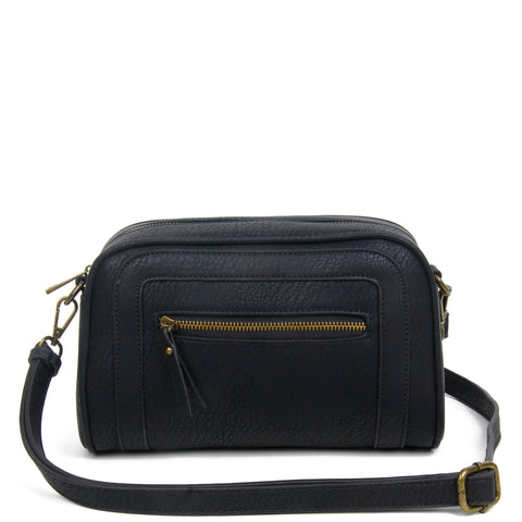 The Aime Crossbody - Black - Ampere Creations