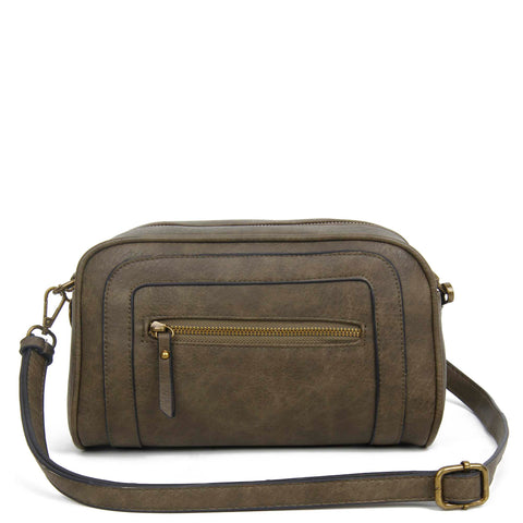 The Aime Crossbody - Khaki - Ampere Creations