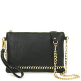 The Danica Crossbody - Black - Ampere Creations