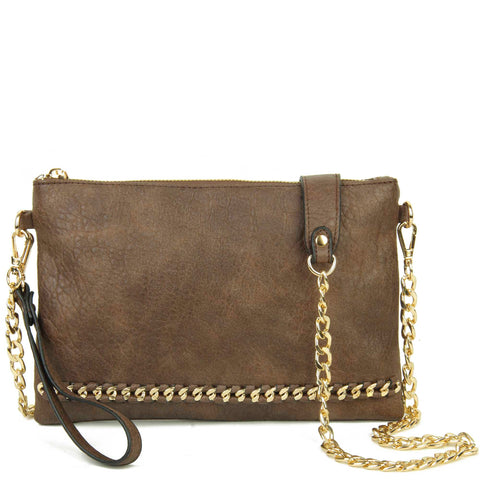 The Danica Crossbody - Dark Brown - Ampere Creations