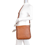 Shelby Crossbody - Cognac - Ampere Creations