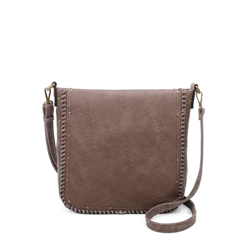 Shelby Crossbody - Taupe - Ampere Creations